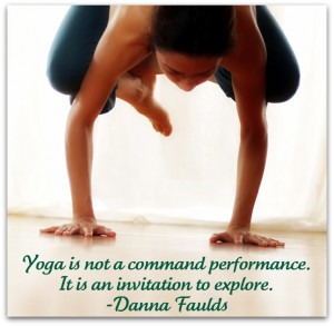 Yoga Poses And Quotes Crow pose with quote