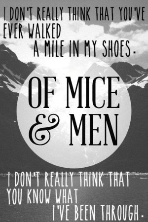 of mice and men friendships the Of mice & men (often abbreviated om&m) is an american metalcore band from orange county i set my friends on fire, and the amity affliction the band toured europe and australia in support of the amity affliction, along with i killed the prom queen.