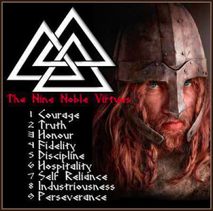 The Nine Noble Virtues: Viking Values for the Warrior Lifestyle