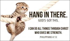 Hang in There Ecard
