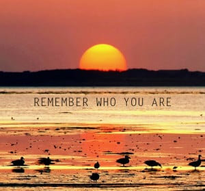 Remember Who You Are Quotes. QuotesGram