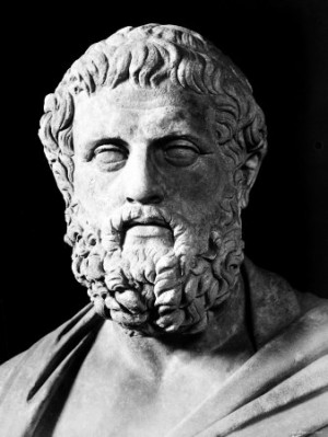 bust of Sophocles