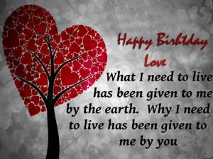 Happy Birthday I Love You Quotes Happy birthday i love you