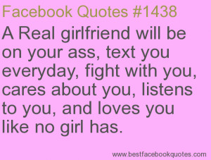Real Girlfriend Quotes