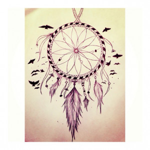 drawing, dream catcher, inspiration, made by me