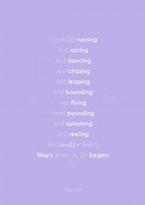 ... Princess Word Art. Rapunzel Tangled Quote by BinxAndBoos, £3.99