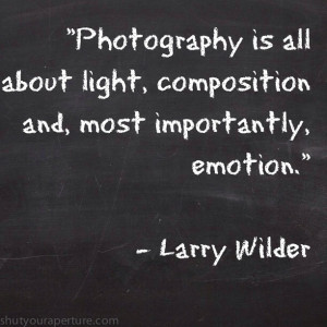 Here is a list of some great Inspirational photography quotes. Feel ...