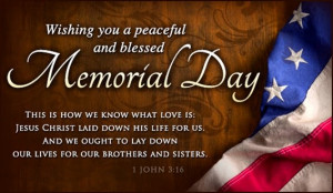 Happy Memorial Day Quotes and Sayings
