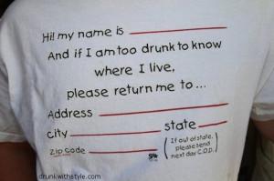 Shirt Funny Drunk Return Me Home Please