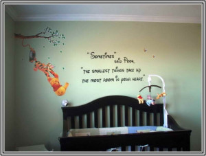 Baby nursery wall decals quotes