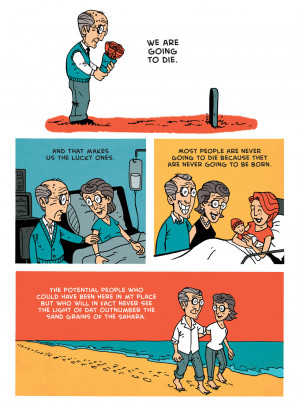richard dawkins the lucky ones via zen pencils richard dawkins 1941 is ...