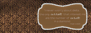 Mae West Quotes FB Cover Pic