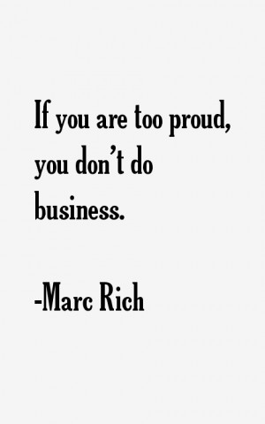 Marc Rich Quotes & Sayings