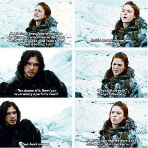 Related Pictures funny image jon snow ygritte game of thrones meme