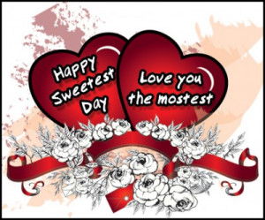 Couple Happy Sweetest Day...