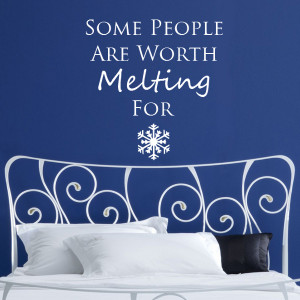 Frozen Quote Wall Sticker