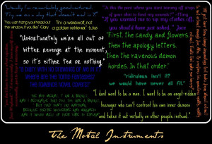 The Mortal Instruments Quotes by DarklingAlexandria19
