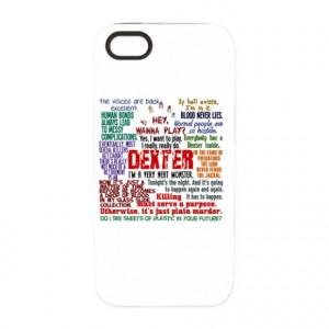 Best Dexter Quotes iPhone 5 Tough Case