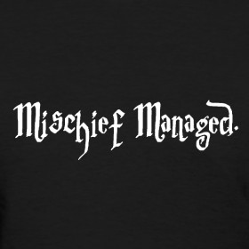 Design ~ Mischief Managed