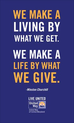 live united inspirational quotes inspiring words giving back ...