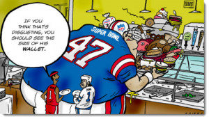 Pre-Game Laughs: Round-up of Super Bowl Sunday Jokes, Cartoons ...