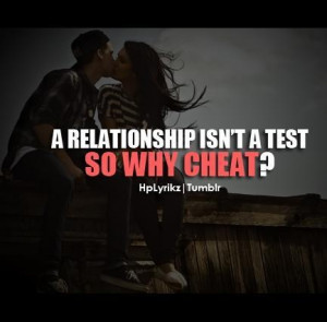 Why Are You Cheating Quotes