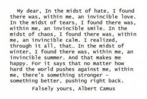 "albert camus the stranger essays Existentialism in camus' ""the stranger of certain aspects of existentialism is witnessed in albert camus's the stranger found the essay you."
