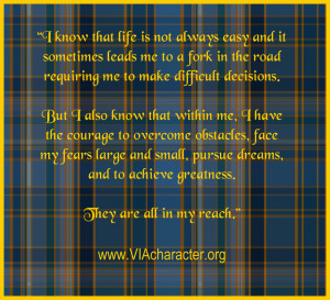 Fork In The Road Quotes Affirmation quote about