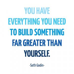 Seth Godin quote printable