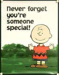 You are someone special! :)
