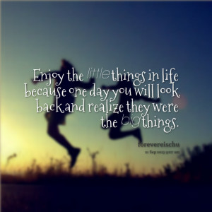 19692-enjoy-the-little-things-in-life-because-one-day-you-will-look ...