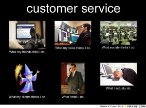 Blog Funny Customer Service...