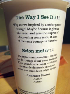 Quotes from Starbucks