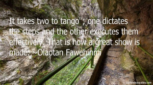 Top Quotes About It Takes Two To Tango
