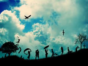 ... pensar la importancia que no le damos a la vida cuando ésta sin