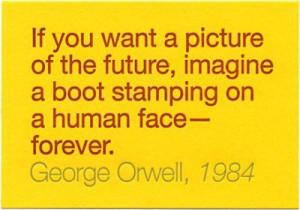 George Orwell, 1984 Amazing use of rhetoric and language
