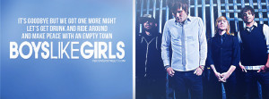 Boys Like Girls The Great Escape Quote Picture