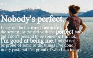 Mrs. Perfect Comes to Blogland . . .