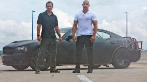 Dominic and Brian - Fast Five wallpaper