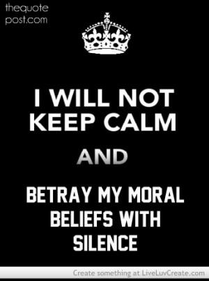 Betrayal By Silence
