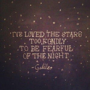Quotes / I've loved the stars too fondly... on we heart it / visual ...
