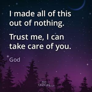 God's got this. #Trust Him. #faith