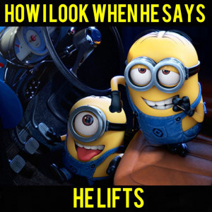Minions like the gym rats. Have to be honest I've never seen someone ...