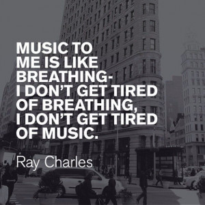Music Inspiration from Ray Charles #ExpressRocks