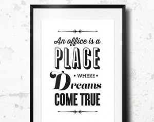 Print, The Office Quote, TV Quote, Michael Scott, The Office TV Show ...