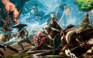 Samurai war wallpaper 1680x1050