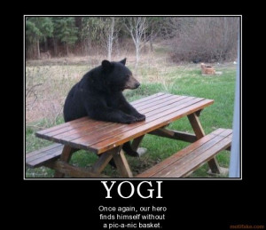 Yogi Bear Food Humor Picnic #FoodieGems