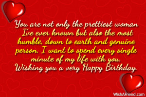 Birthday Wishes Quotes For My Girlfriend ~ Birthday Wishes For ...