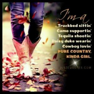 Pure Country Kinda Girl