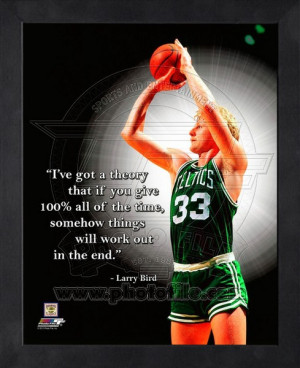 Larry Bird Quotes And Sayings